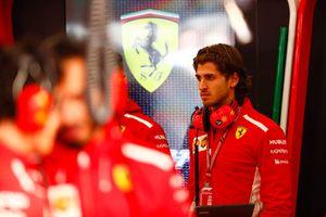 Antonio Giovinazzi, tester e pilota di riserva, Ferrari