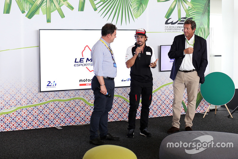 Le Mans eSports presentation with Fernando Alonso