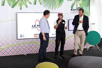 Präsentation der Le Mans eSports Series (LMES) mit Fernando Alonso, Toyota Gazoo Racing