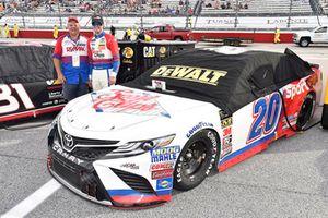 Erik Jones, Joe Gibbs Racing, Toyota Camry Sport Clips Throwback