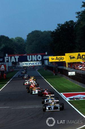 Alain Prost, Williams leads