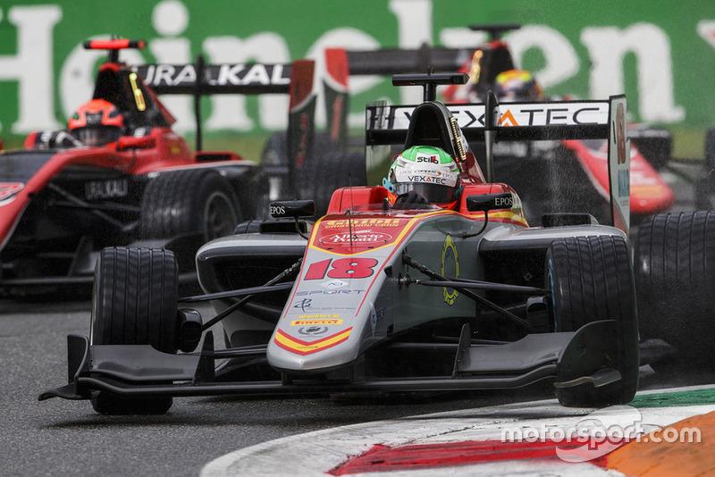 Longtemps troisième, Pulcini a été trahi par la mécanique en fin de course
