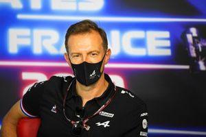 Laurent Rossi, CEO, Alpine F1