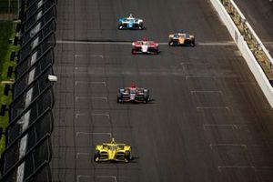 Scott McLaughlin, Team Penske Chevrolet, Will Power, Team Penske Chevrolet, Simona De Silvestro, Paretta Autosport Chevrolet