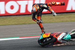 Jaume Masia, Red Bull KTM Ajo crash