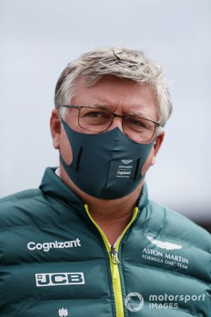 Otmar Szafnauer, Team Principal and CEO, Aston Martin F1