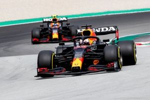 Max Verstappen, Red Bull Racing RB16B, Sergio Perez, Red Bull Racing RB16B