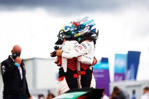 Lucas Di Grassi, Audi Sport ABT Schaeffler, primo classificato, Rene Rast, Audi Sport ABT Schaeffler, secondo classificato