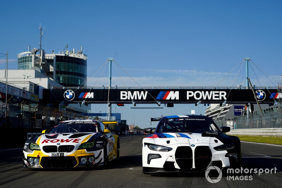 #1 ROWE Racing BMW M6 GT3: Nick Catsburg, John Edwards, Philipp Eng, Nick Yelloly, BMW M4 GT3