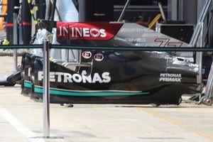 Mercedes W12 bodywork