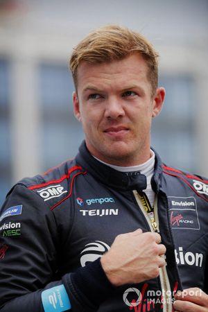 Pole man Nick Cassidy, Envision Virgin Racing