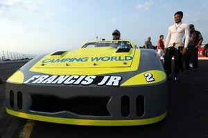 Ernie Francis Jr. at the SRX race at Lucas Oil Raceway