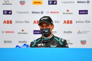 Mitch Evans, Jaguar Racing, 3rd position, in the Press Conference