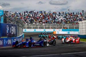 Nick Cassidy, Envision Virgin Racing, Audi e-tron FE07, Alexander Sims, Mahindra Racing, M7Electro