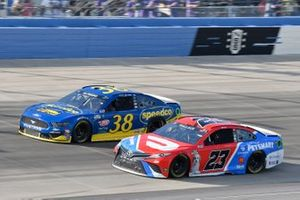 Bubba Wallace, 23XI Racing, Toyota Camry DoorDash, Anthony Alfredo, Front Row Motorsports, Ford Mustang Speedco