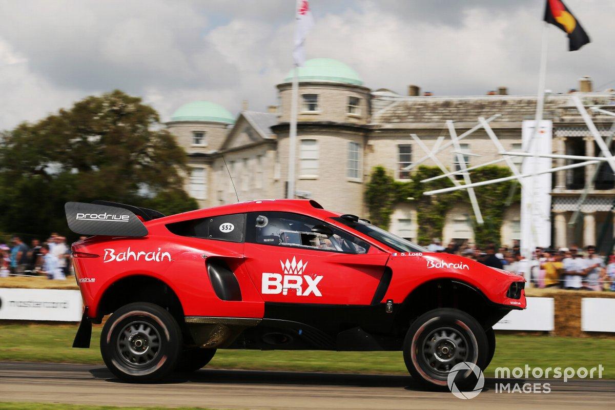 Sébastien Loeb au volant du BRX Hunter (2021)