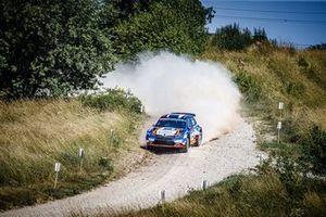 Efren Llarena, Sara Fernandez, Skoda Fabia Rally2 evo