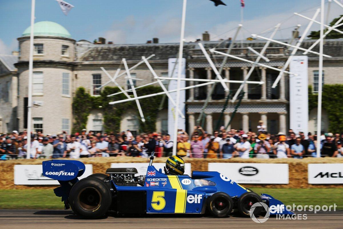 James Hanson, Tyrrell P34
