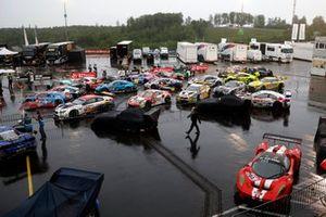 Rain during Top qualifying