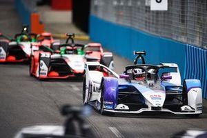 Jake Dennis, BMW i Andretti Motorsport, BMW iFE.21, Rene Rast, Audi Sport ABT Schaeffler, Audi e-tron FE07