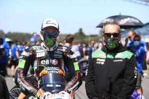 Philipp Öttl, Kawasaki Puccetti Racing,, mit Manuel Puccetti