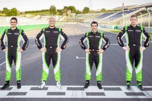 Mikel Azcona, Rob Huff, Jordi Gené, Bence Boldizs, Zengo Motorsport