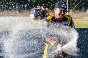 Podium: Kevin Hansen, Hansen World RX Team Peugeot 208