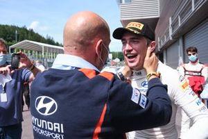 2. Craig Breen, Hyundai Motorsport, mit Andrea Adamo