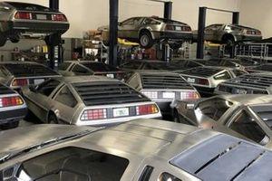 L'incredibile storia delle DeLorean ammucchiate in un garage