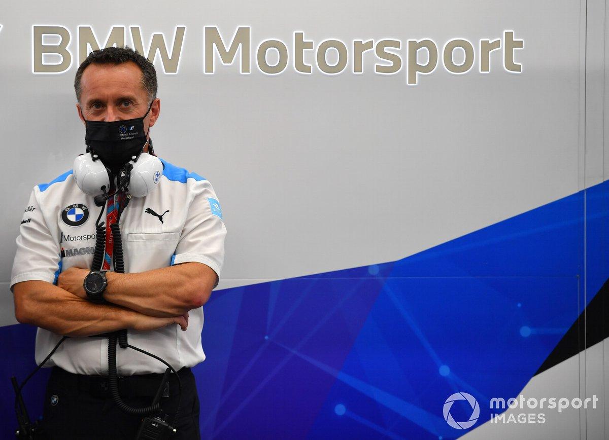 Roger Griffiths, director de equipo de BMW i Andretti Motorsport