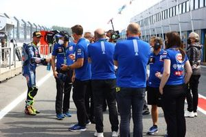 Andrea Locatelli, PATA Yamaha WorldSBK Team, et l'équipe Yamaha