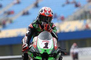 Race winner Jonathan Rea, Kawasaki Racing Team WorldSBK