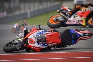 Sturz: Johann Zarco, Pramac Racing