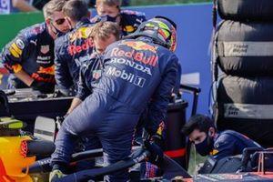 Sergio Perez, Red Bull Racing, sur la grille
