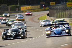 #7 Bentley Speed 8: Shaun Lynn, #15 Dallara SP1: James Cottingham