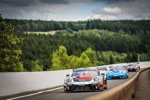 #56 Dinamic Motorsport Porsche 911 GT3-R: Andrea Rizzoli, Mikkel O. Pedersen, Romain Dumas