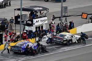 A.J. Allmendinger, Kaulig Racing, Chevrolet Camaro Hyperice and Landon Cassill, JD Motorsports, Chevrolet Camaro TeamJDMotorsports.com