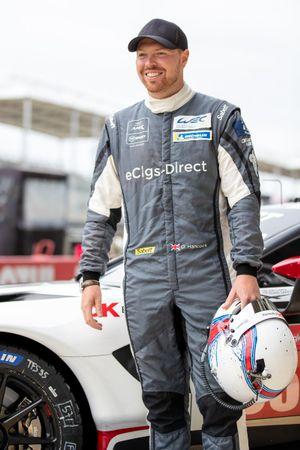 Oliver Hancock, #95 TF Sport Aston Martin Vantage AMR LMGTE Am