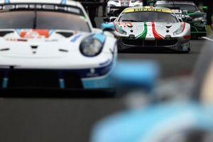 #54 AF Corse Ferrari 488 GTE EVO LMGTE Am, Thomas Flohr, Giancarlo Fisichella, Francesco Castellacci