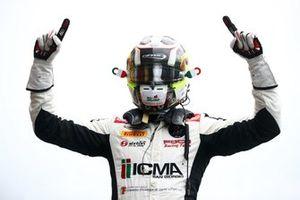 Il vincitore di gara 1, Lorenzo Colombo, Campos Racing,