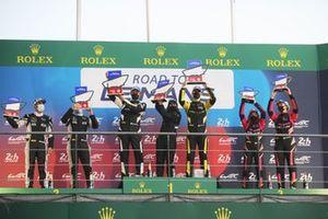 #31 AF Corse Ligier JS P320 - Nissan: Kriton Lentoudis, Rui Aguas, #8 Iron Lynx Ferrari 488 GT3: Rory Penttinen, Logan Sargeant, #9 Iron Lynx Ferrari 488 GT3: Manuela Gostner, Doriane Pin