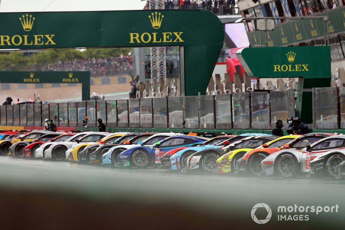Parrilla de Le Mans 2021