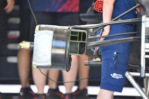 Red Bull RB16B, dettaglio del freno anteriore