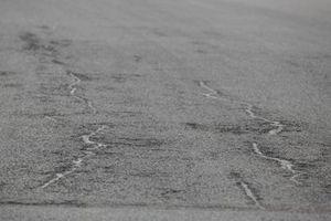 Asphalt im Autodrom Most