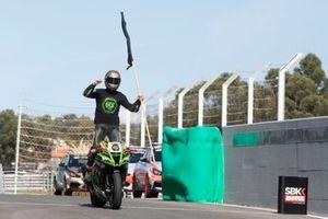 Jonathan Rea, Kawasaki Racing Team festeggia il suo sesto titolo Mondiale
