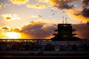 Sonnenuntergang am Indianapolis Motor Speedway