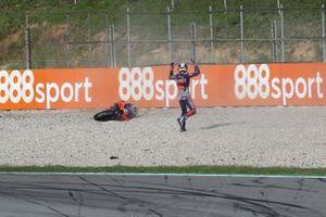 Iker Lecuona, Red Bull KTM Tech 3 crash