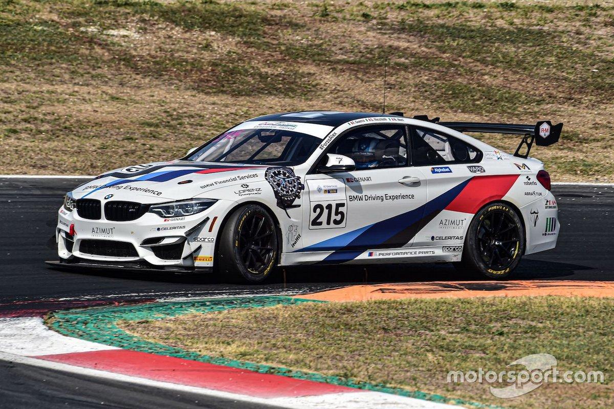Francesco Guerra, Nicola Neri, Simone Riccitelli, BMW M4 GT4, BMW Team Italia