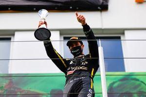 Daniel Ricciardo viert de derde plaats