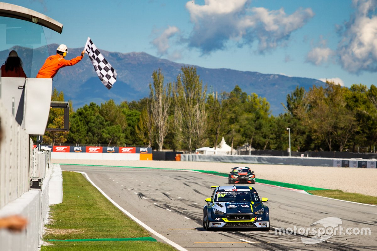 Andreas Backman, Target Competition, Hyundai i30 N TCR vince Gara2